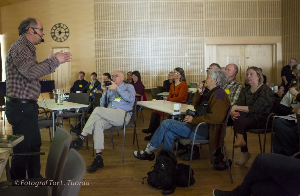 Mats Karström berättar om Steget Föres tillblivelse.