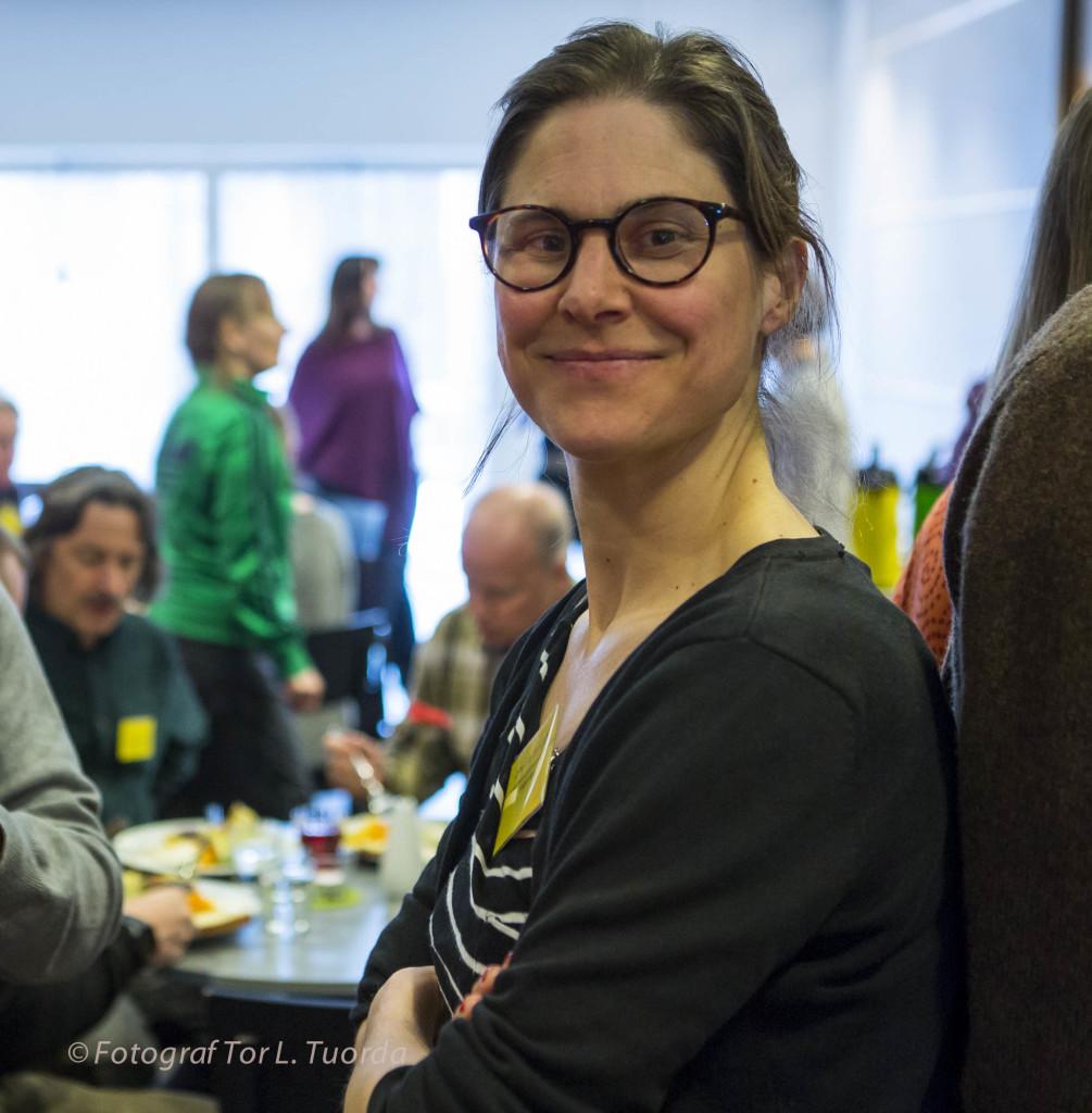 Johanna Sandahl, ordförande Naturskyddsföreningen riks.