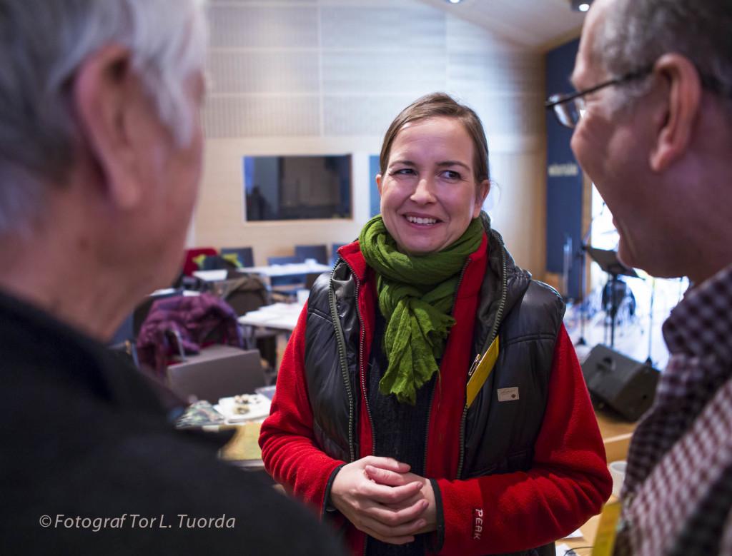 Isabella Katsimenis, ordförande för Naturskyddsföreningen Norrbotten.